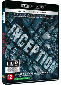 Inception (4K Ultra HD + Blu-ray) - Blu-ray 4K