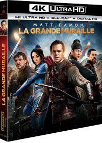 La Grande Muraille (4K Ultra HD + Blu-ray + Digital UltraViolet) - Blu-ray 4K