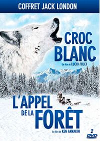 Coffret Jack London : Croc-Blanc + L'appel de la forêt (Pack) - DVD