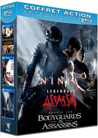 Coffret Action : Ninja + Legendary Assassin + Bodyguards & Assassins (Pack) - Blu-ray