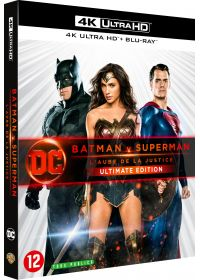 Batman v Superman : L'aube de la justice (Ultimate Edition - 4K Ultra HD + Blu-ray + Digital HD) - 4K UHD