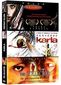 Polar n° 2 - Coffret 3 films : Contract Killers + Perverse Karla + The Collector (Pack) - DVD
