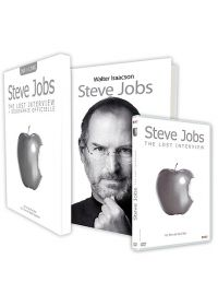 Steve Jobs : The Lost Interview (+ 1 Livre) - DVD