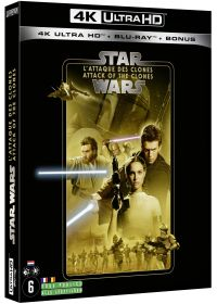 Star Wars - Episode II : L'Attaque des clones (4K Ultra HD + Blu-ray + Blu-ray Bonus) - 4K UHD