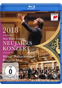 Concert du Nouvel An 2018 - Blu-ray