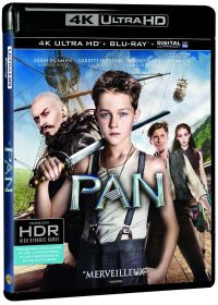 Pan (4K Ultra HD + Blu-ray + Digital UltraViolet) - 4K UHD