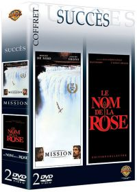Coffret Succès - Mission + Le nom de la rose - DVD