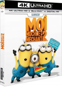 Moi, moche et méchant 2 (4K Ultra HD + Blu-ray + Digital HD) - Blu-ray 4K