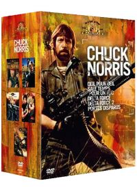 Collection Chuck Norris - 5 films (Pack) - DVD