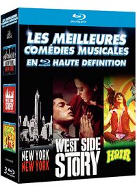 Les Comédies musicales : New York, New York + West Side Story + Hair (Pack) - Blu-ray