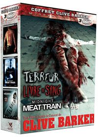 Coffret Clive Barker : Terreur + Livre de sang + Midnight Meat Train (Pack) - DVD