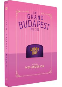 The Grand Budapest Hotel (Édition Limitée boîtier SteelBook) - Blu-ray