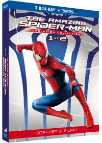 Amazing Spider-Man - Evolution Collection : The Amazing Spider-Man + The Amazing Spider-Man : Le destin d'un héros (Blu-ray + Copie digitale) - Blu-ray