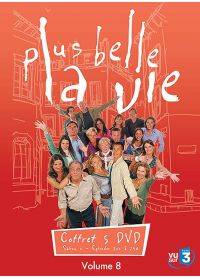 Plus belle la vie - Volume 8 - DVD