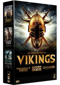 Les Meilleurs films de Vikings - Valhalla Rising + Hammer of the Gods + Outlander (Pack) - DVD