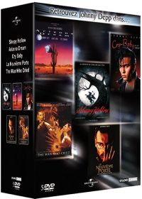 Johnny Depp - Coffret - Sleepy Hollow + Arizona Dream + The Man Who Cried (Les larmes d'un homme) + La neuvième porte + Cry Baby (Pack) - DVD