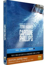 Capitaine Phillips (Édition Collector exclusive FNAC boîtier SteelBook) - Blu-ray