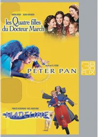 Flix Box - 18 - Les quatre filles du Dr March + Peter Pan + Madeline - DVD