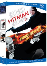 Hitman + Le transporteur (Pack) - Blu-ray