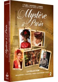 Mystère à Paris - La collection : Moulin Rouge + Tour Eiffel + Opéra + Place Vendôme + Louvre - DVD
