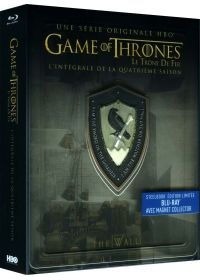 Game of Thrones (Le Trône de Fer) - Saison 4 (Édition collector boîtier SteelBook + Magnet) - Blu-ray