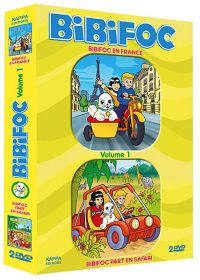 Bibifoc - Vol. 1 : Bibifoc en France + Bibifoc part en safari (Pack) - DVD