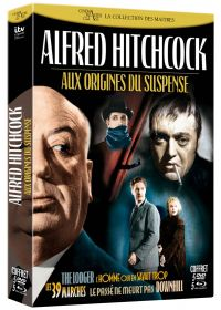 Alfred Hitchcock : Aux origines du suspense (Combo Blu-ray + DVD) - Blu-ray