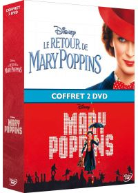 Mary Poppins + Le Retour de Mary Poppins - DVD