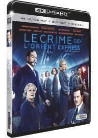 Le Crime de l'Orient Express (4K Ultra HD + Blu-ray + Digital HD) - Blu-ray 4K