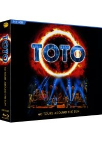 Toto - 40 Tours Around The Sun (Blu-ray + CD) - Blu-ray