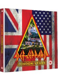 Def Leppard - London to Vegas (Édition Deluxe 2 Blu-ray + 4 CD + Livre) - Blu-ray