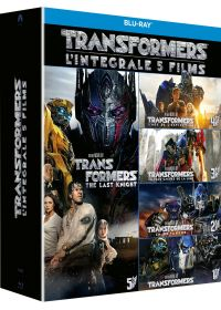 Transformers - Coffret : Transformers + Transformers 2 - La revanche + Transformers 3 - La face cachée de la Lune + Transformers : l'âge de l'extinction + Transformers : The Last Knight - Blu-ray
