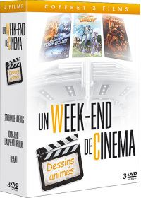 Coffret un week-end de cinéma - Dessins-animés (Pack) - DVD