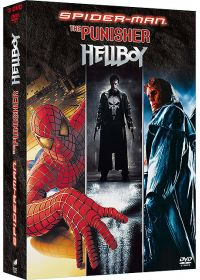 Spider-Man + The Punisher + Hellboy (Pack) - DVD