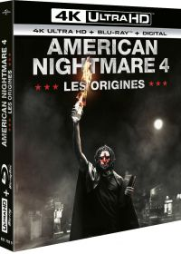 American Nightmare 4 : Les Origines (4K Ultra HD + Blu-ray + Digital) - 4K UHD