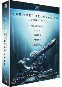 De Prometheus à Alien, l'évolution - Blu-ray