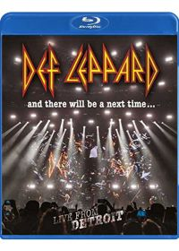 Def Leppard - And There Will Be a Next Time... Live from Detroit - Blu-ray