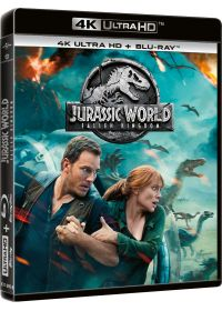Jurassic World : Fallen Kingdom (4K Ultra HD + Blu-ray) - 4K UHD