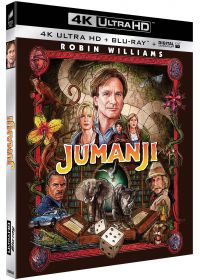 Jumanji (4K Ultra HD + Blu-ray + Digital UltraViolet) - 4K UHD