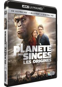 La Planète des Singes : Les origines (4K Ultra HD + Blu-ray + Digital HD) - 4K UHD