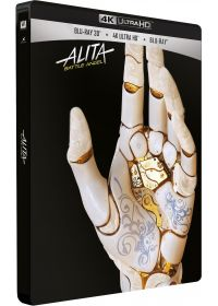 Alita : Battle Angel (4K Ultra HD + Blu-ray 3D + Blu-ray - Édition Limitée SteelBook) - 4K UHD