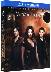 Vampire Diaries - L'intégrale de la Saison 6 (Blu-ray + Copie digitale) - Blu-ray