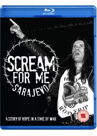 Scream For Me Sarajevo, A story of hope in a time of war - Blu-ray