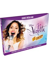 Violetta, le concert (Coffret spécial fans - DVD + CD Audio + goodies) - DVD