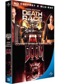 Death Race, course à la mort + Doom (Pack) - Blu-ray