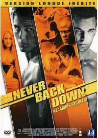 Never Back Down (Version longue inédite) - DVD