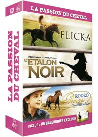 Passion du cheval : Flicka + L'étalon noir + Rodeo Princess (#NOM?) - DVD
