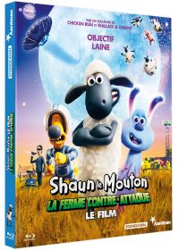 Shaun le Mouton, le film : la ferme contre-attaque - Blu-ray