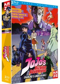 JoJo's Bizarre Adventure - Saison 3 : Diamond is Unbreakable, Box 2/2 - Blu-ray