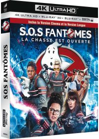 SOS Fantômes (4K Ultra HD + Blu-ray 3D + Blu-ray 2D Version Longue + Copie digitale UltraViolet) - 4K UHD